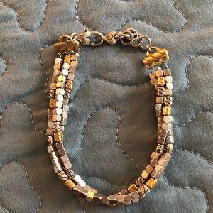 Brighton 2tone multi strand bracelet